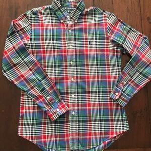Polo Ralph Lauren custom fit flannel button down